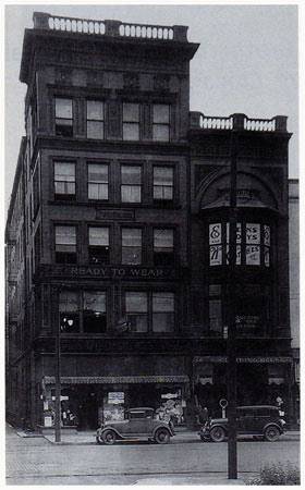 Pierik Building 116 S. 6th I.O. Office 1905- 1914 Local Office 1901-1914