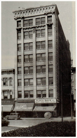 Reisch Building 119 S. 5th I.O. Office 1914-1920 Local Office 1914-1920