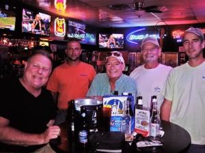 George Carver, Kyle Kother, Bob Ruggles, Greg Campbell, Tim Schultz