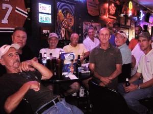 D. Rudolph, G. Carver, G.Campbell, J. Schultz, B. Norvell, D. Kother, J. Vincent (in back), B. Ruggles, Kyle Kother, T. Schultz  - D. Burns behind T. Schultz