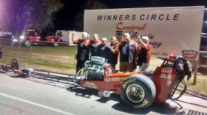 Brothers David Burns' and George Alewelt's car won 1st Place in the 2016 Nostalgic Quick Series Race at the Central Illinois Dragway with Doug Bangert, driver.  They won 3 races and were runner up in 1 race to take 1st Place.  IBEW Local 193 is one of their sponsors.